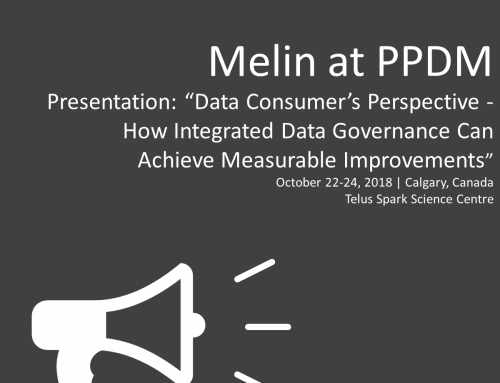 Melin at PPDM, Calgary 2018